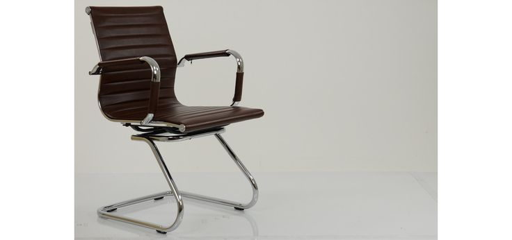 Howden Vintage Brown Conference Office Chair