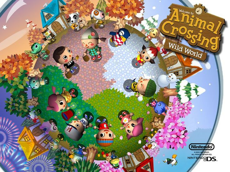 Animal Crossing Wild World--My first Animal Crossing game and I played it daily for a couple of years.