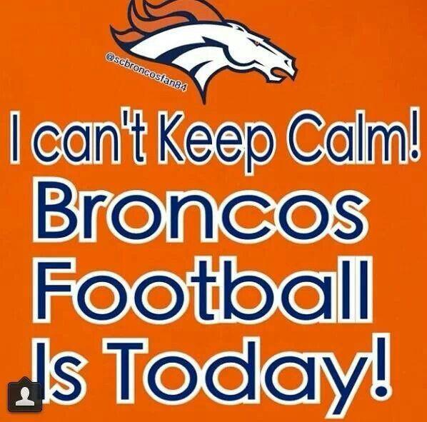Yay! Go Broncos!