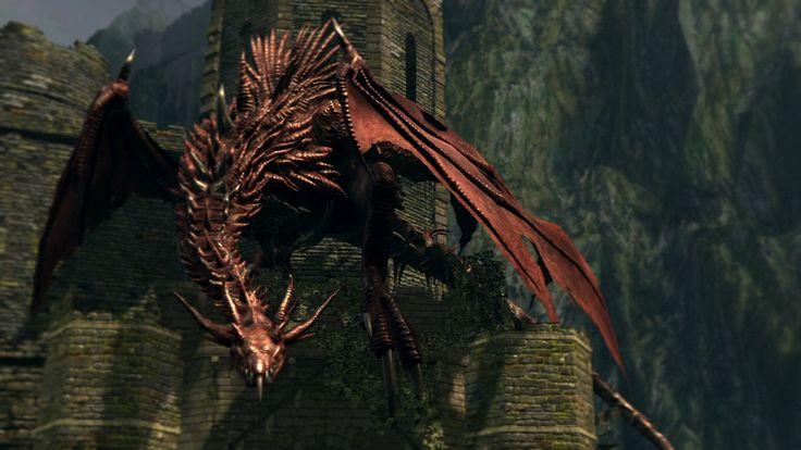 Картинки по запросу дарк соулс дракон