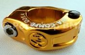 """Dia-Compe MX hinged BMX seat clamp - 25.4mm (1"""""""") GOLD"""