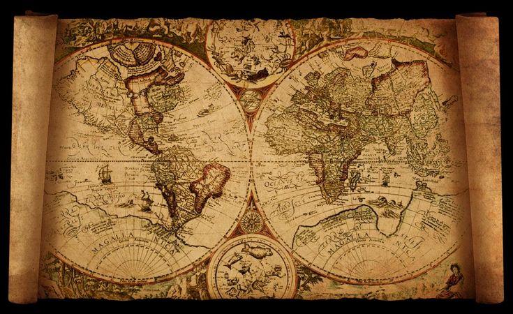 old world map by hanciong on DeviantArt