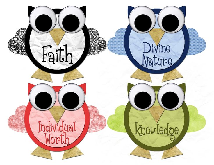 Young Women Value Owls - Free download!