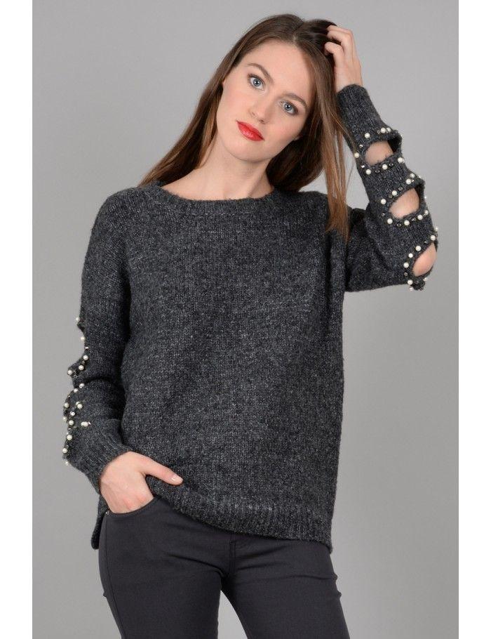 8c3532ecd4 Openwork sweater - Molly Bracken E-Shop - Collection Printemps Été 2018
