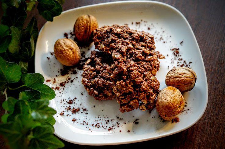 Fit & Fast Kitchen: Owsiano-kakaowe ciasteczka