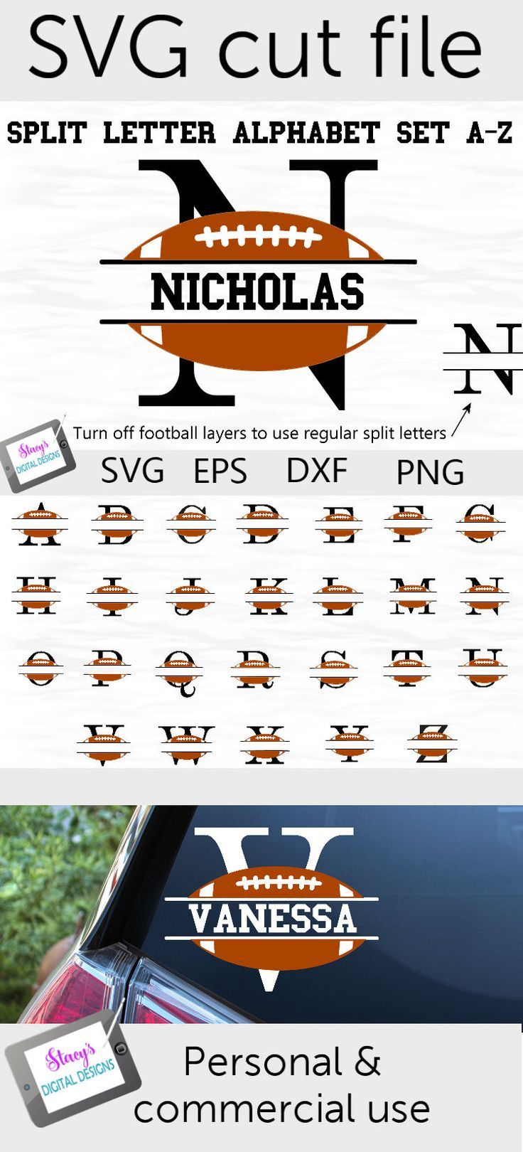 Download Pin On Football Svg Cutting Files Silhouette And Cricut Cutting Files