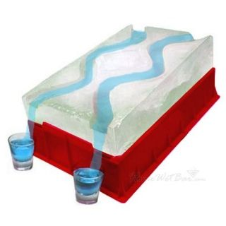 Party ice shot luge might be necessary at Cinco de Mayo party