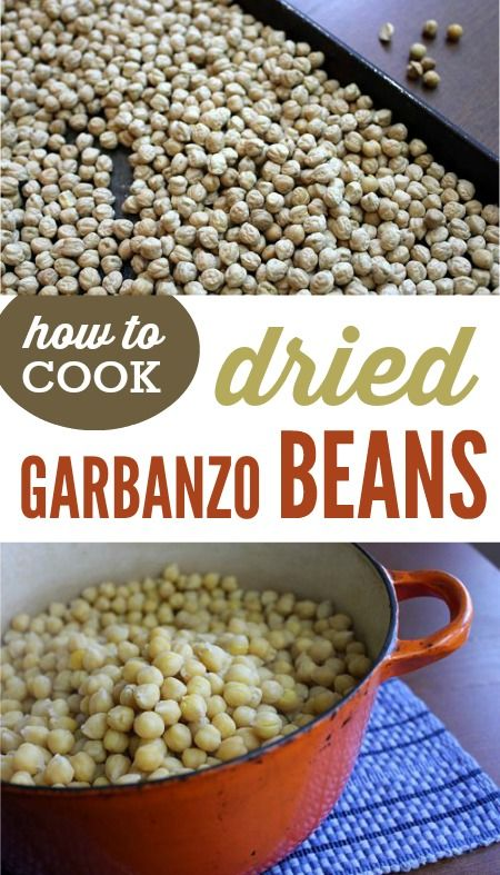 How to Cook Dried Garbanzo Beans on the stove + Homemade Hummus Recipe!