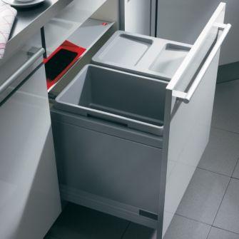 Vestavný odpadkový koš Triple-XL 3631-60