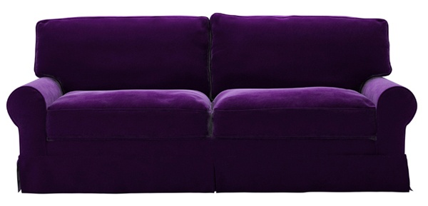 So this is pretty much my perfect sofa.I have this sofa, it is white right now, just needs to be reupholstered