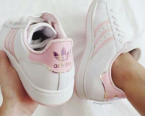 Adidas Shoes Pink And Grey