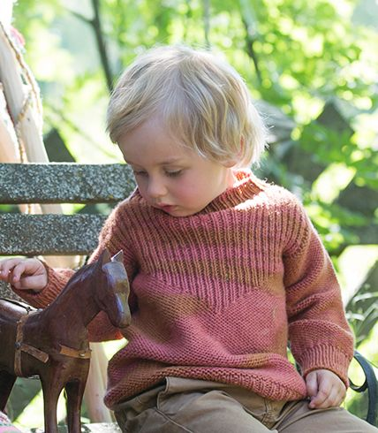 Pickles - Cowboy Sweater - Pattern/Yarn Kit