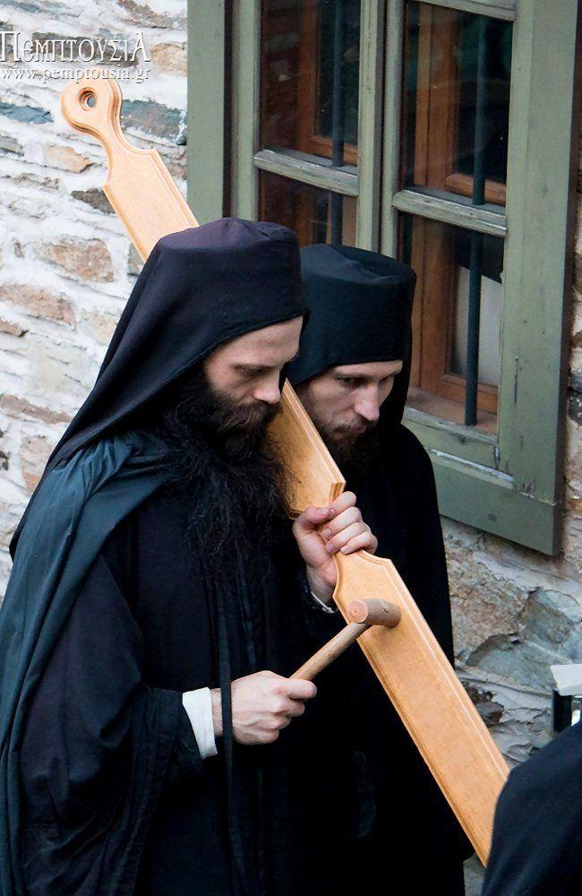 The Prophet Elijah litany in Vatopedi Monastery, Mount Athos, Greece | photo (08)