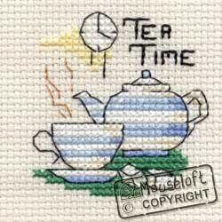 Mouseloft Mini Cross Stitch Kit - Tea Time, Images of Britain Collection Mouseloft http://www.amazon.co.uk/dp/B004YVKF7O/ref=cm_sw_r_pi_dp_NtYAwb1YA0NRZ
