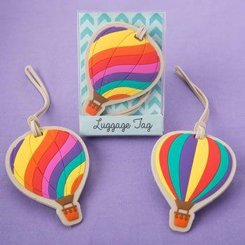 Hot Air Balloon Luggage Tags #hotairballoon #luggagetag