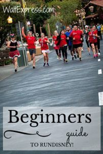 Beginners Guide to runDisney! #runDisney #Disneyland #DisneyWorld