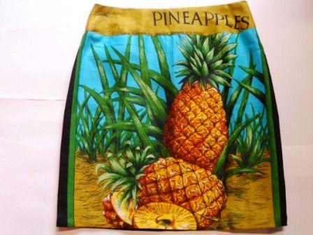 Pineapples skirt size 12