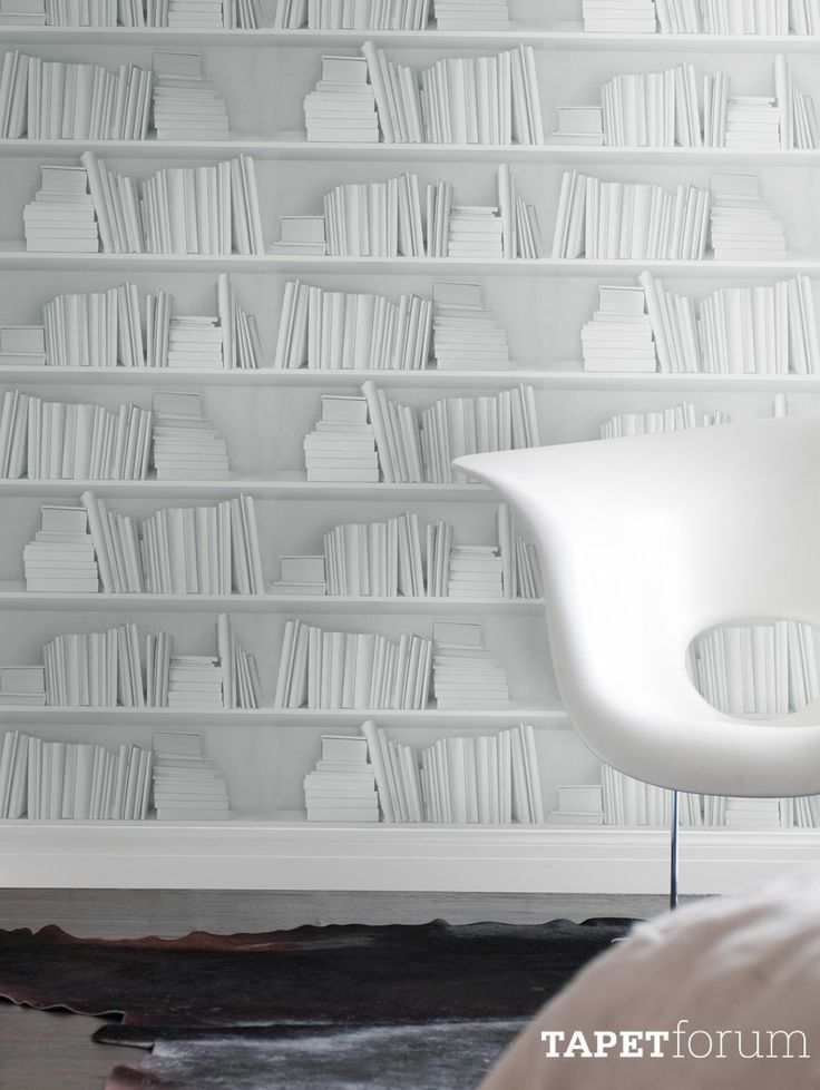 White Bookshelf, by Young & Battaglia