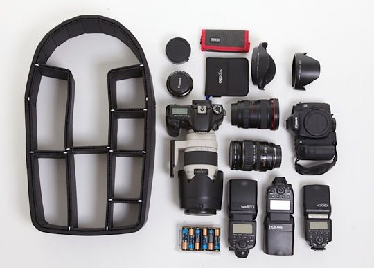 TrekPak - Padded Backpack Insert | All., Organizers and Cameras