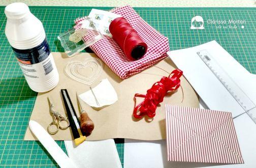 materiais e ferramentas básicas encadernação artesanal