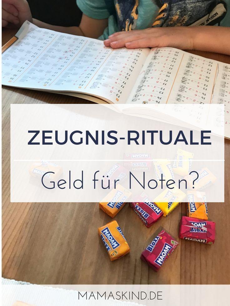 Zeugnis-Rituale: Geld für Noten? | Mehr Infos auf Mamaskind.de