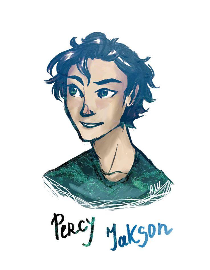 30 days of The Heroes Of Olimpus:1. Percy Jackson by drakonarinka on DeviantArt