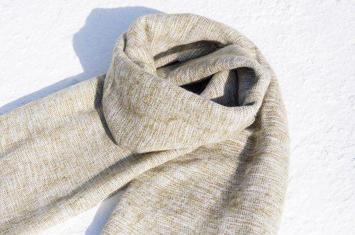 情人節禮物 生日禮物 限量一件 純羊毛披巾 / boho針織圍巾 / 手織圍巾 / 針織披巾 / 蓋毯 / 純羊毛圍巾 / 純羊毛披巾 -簡約時尚 海苔御飯糰