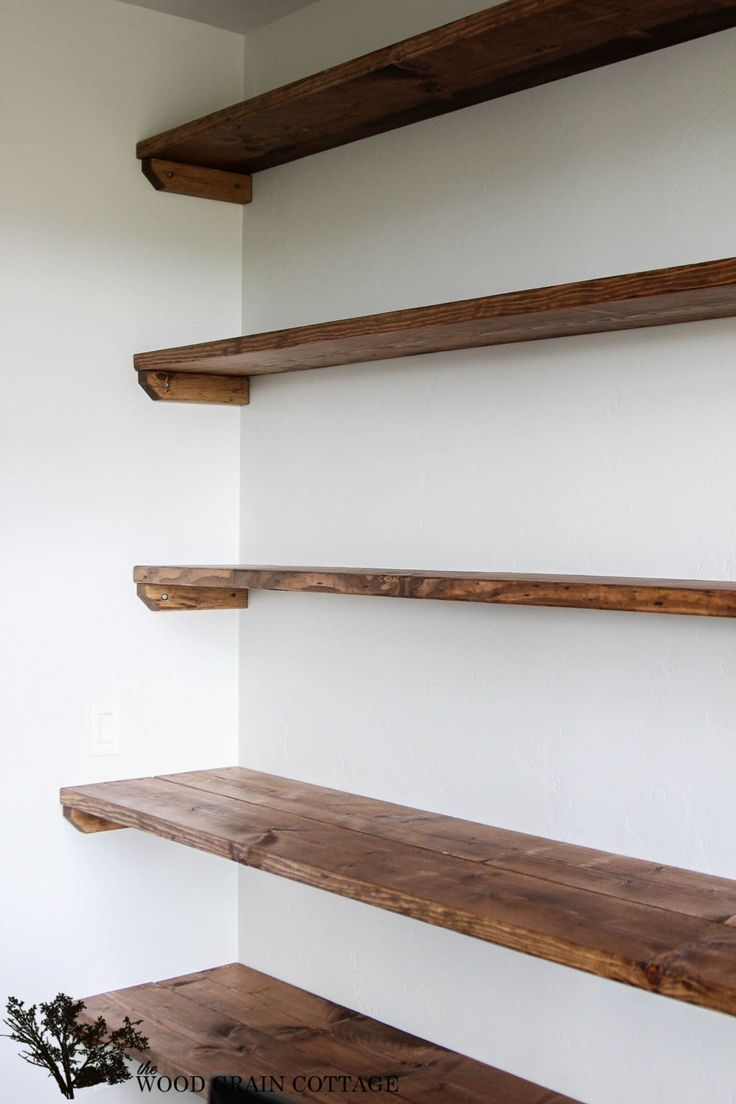 17 best ideas about diy wall shelves on pinterest