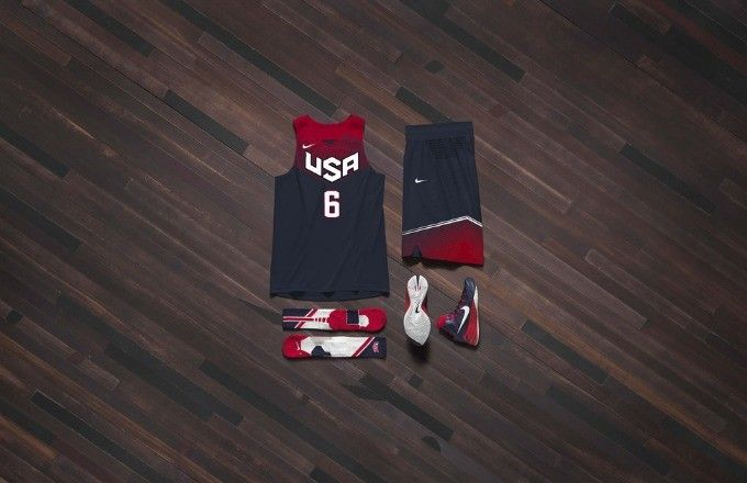 James Harden, Anthony Davis, and Kyrie Irving Show Off New Team USA Basketball Jerseys