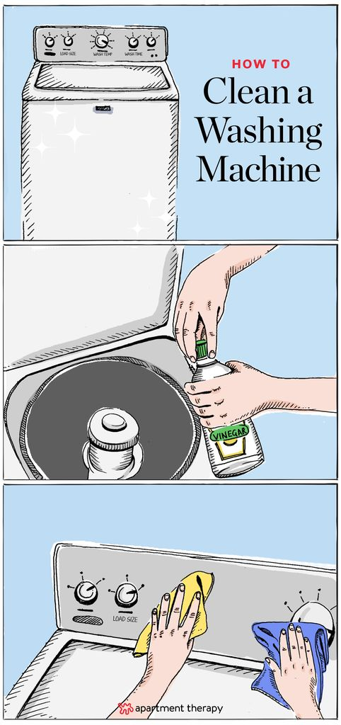 How To Clean a Washing Machine | When using appliances like washing machines and dishwashers — putting soap in and taking clean things out — one can sometimes forget that the appliance itself needs a good cleaning now and then. Here's how to get rid of bad smells so that it doesn't transfer to clothing.