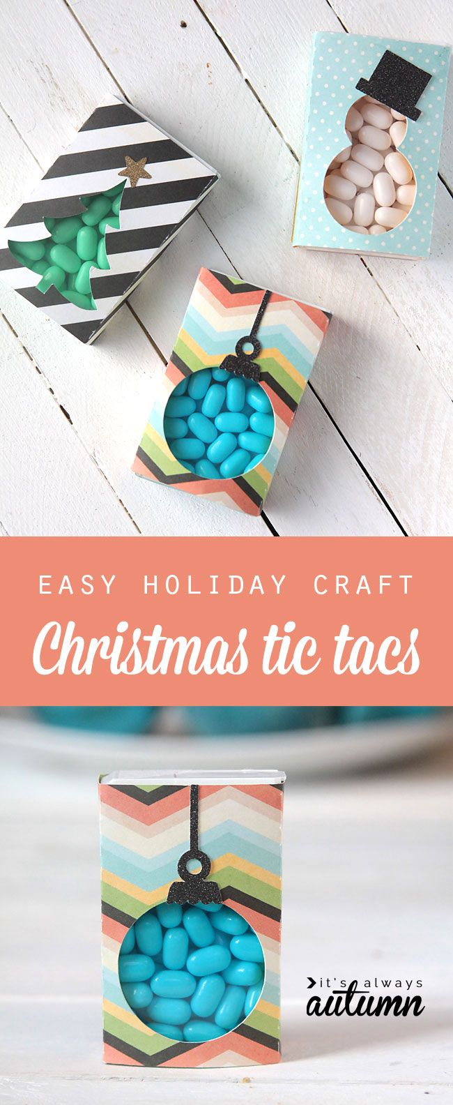 DIY: Christmas tic tacs