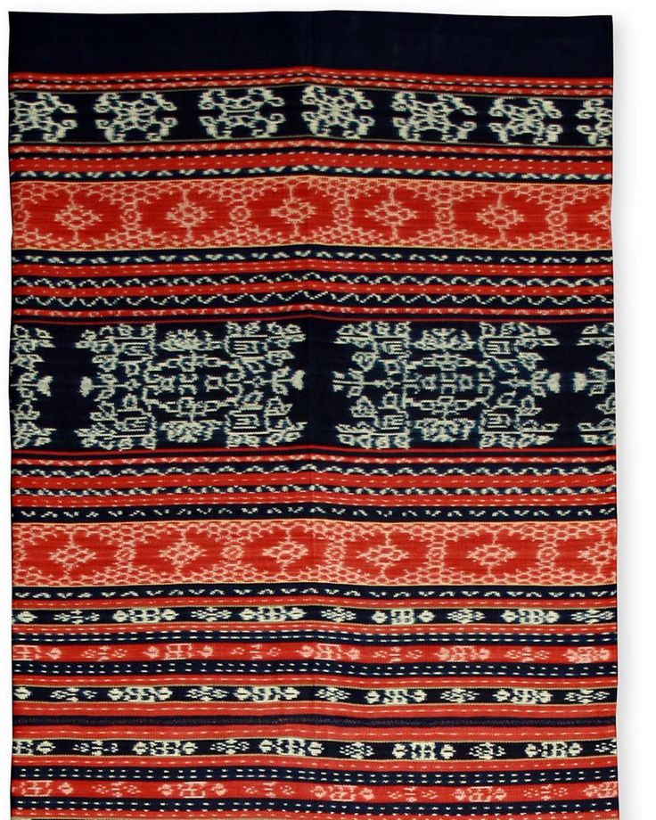 For generations extraordinary trade textiles have come out of the Sikka regency of #Flores near the coastal city of Maumere. Even today the #Sikka people exchange their cloths for food animals machinery and other goods at bustling local markets. The large bold motifs on this tube-shaped skirt mark the woman who wears it as unmarried. This piece is exceptional for the crisp clarity of its designs. Sikka women advertise their rare weaving abilitiesand their desirability as marriage…