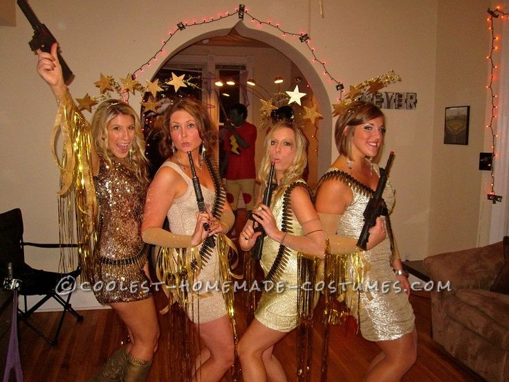 Stunning Shooting Stars Girl Group Costume... Coolest Homemade Costumes