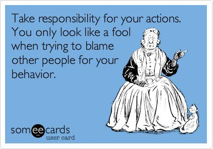Take responsibility for your actions. You only look like a fool when trying to blame other people for your behavior. Stop making up lies so people feel sorry for you. It's really pathetic. Stop trying to use your kids against their fathers! Stop Parental Alienation!