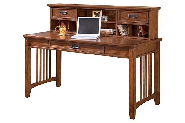 the cross island desk from ashley furniture homestore