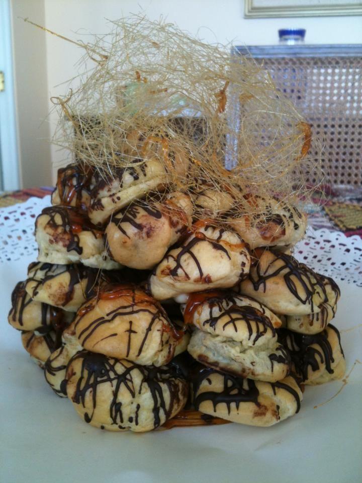 Torta Croquembouche