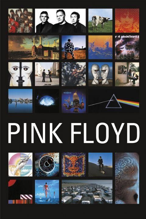 Pink Floyd Collage