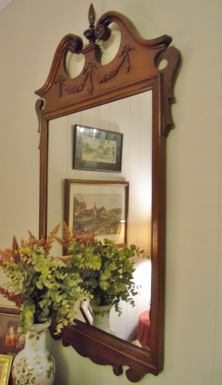 61 Best Colonial And Primitive Mirrors Images On Pinterest