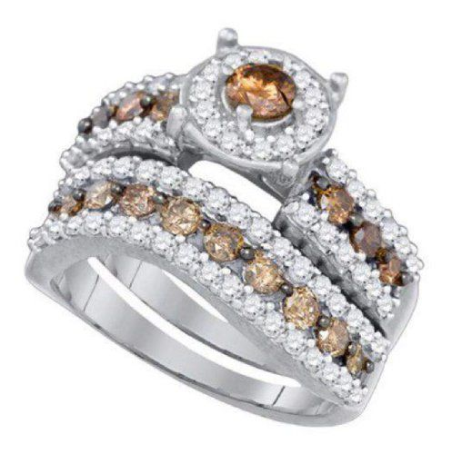 Colored Diamond Wedding Ring Sets: 1000+ Images About What Is A Chocolate Diamond? On Pinterest