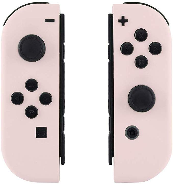 Amazon Com Extremerate Soft Touch Grip Sakura Pink Joycon Handheld Controller Housing With Full Set Butto Nintendo Switch Accessories Nintendo Switch Nintendo