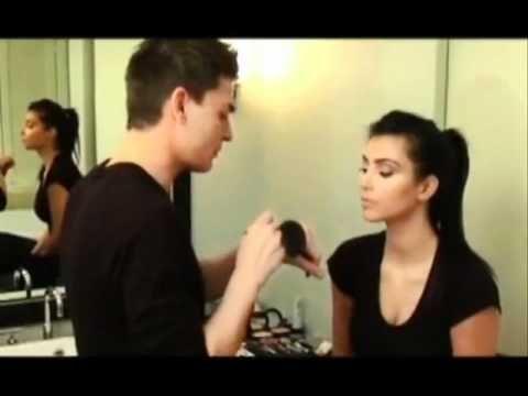 kim kardashian's makeup with Mario-full length. Absolutely love her makeup.