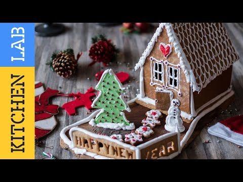Χριστουγεννιάτικο σπιτάκι | Kitchen Lab by Akis Petretzikis - YouTube
