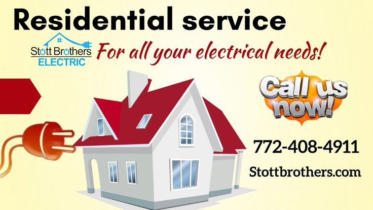 Looking for a best electrician in Stuart, FL? Stott Brothers Electric is a right choice! Our technicians are experienced  in handling all your residential electrical needs. Call today for a quote: 772-408-4911 or visit our website for more details.