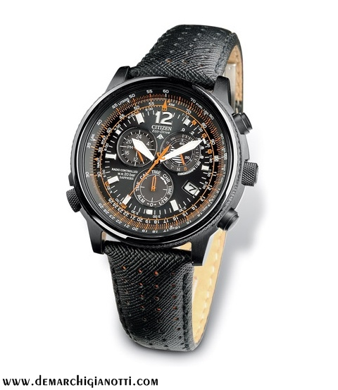 Citizen Chrono Pilot Radiocontrollato  Eco Drive AS4025-08E  www.demarchigianotti.com