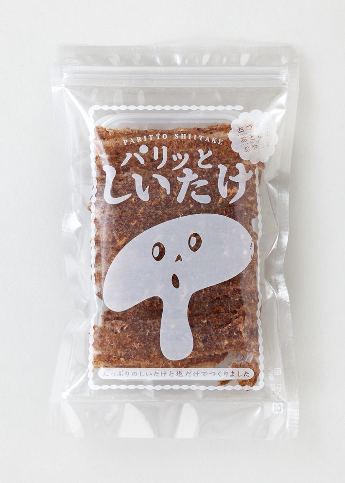 so cute shiitake #packaging PD