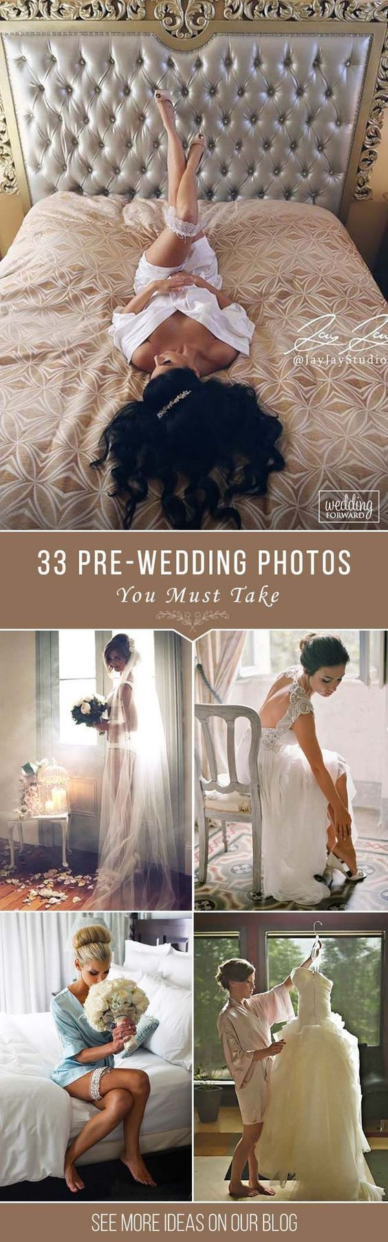 Capturing good pictures on your wedding day is very important, so you have to be prepared. In our pre-wedding photos we will give you some inspiration! -- Check out this great tip #Wedding #weddingphotos #weddingpictures