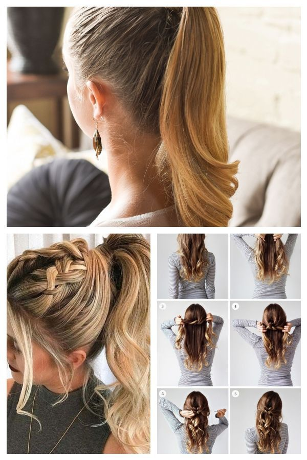 17 Glamour Oozing Dressy Ponytail Hairstyles Straight With Highlights #ponytailh..., #Dressy # ...