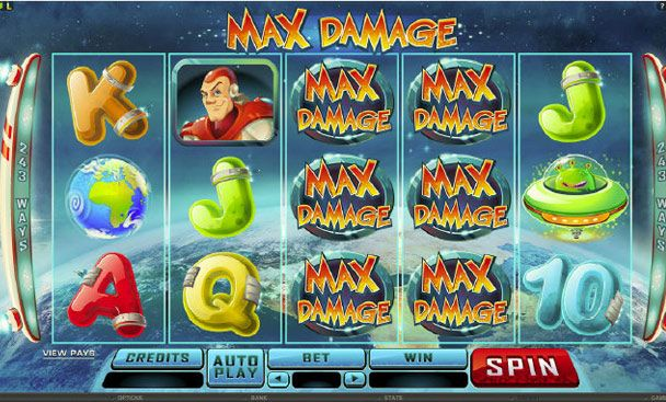 #Microgaming has recently launched Max Damage and Alien Attack, a space-tacular slots game featuring the space hero Max .  #maxdamageslots #onlinecasinoaustralia #onlineslots