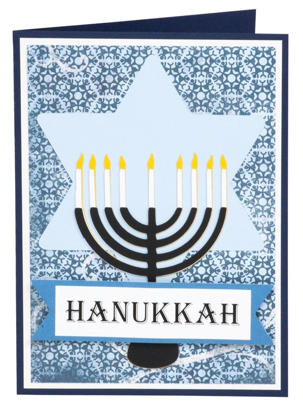 36 best hannukah cards images on pinterest hannukah hanukkah happy hanukkah make with the cricut m4hsunfo Image collections