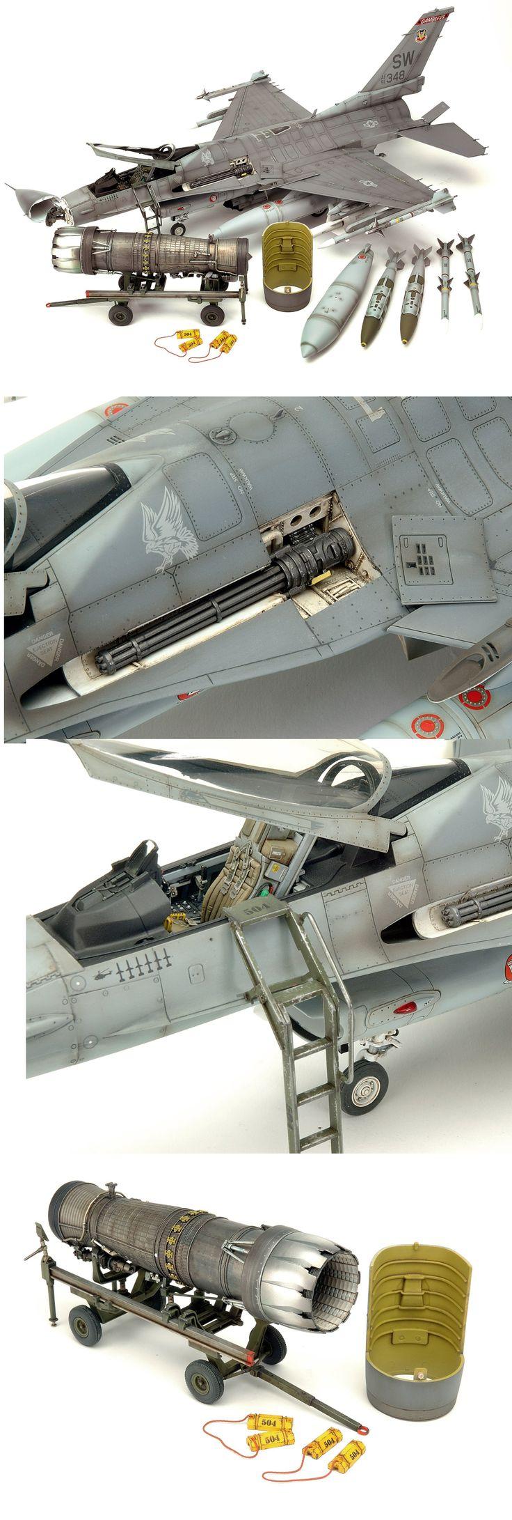 F-16C Fighting Falcon | Unknown Scale